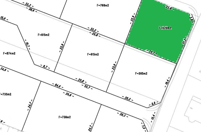 Bauplatz #5a in Stadtlengsfeld 620 m²