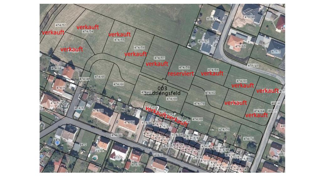 Bauplatz, Stadtlengsfeld, 72,00 €/m²